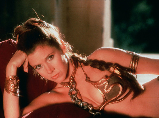 sexy carrie fisher
