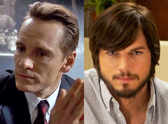 Steve Jobs, Michael Fassbender, Ashton Kutcher