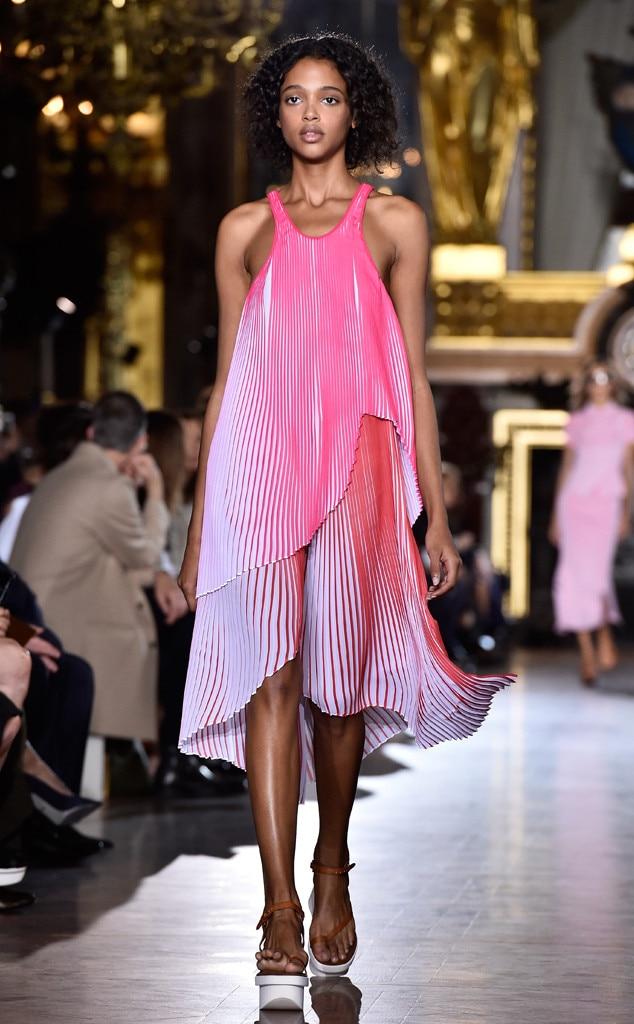 Stella Mccartney Fashion Week  Exit