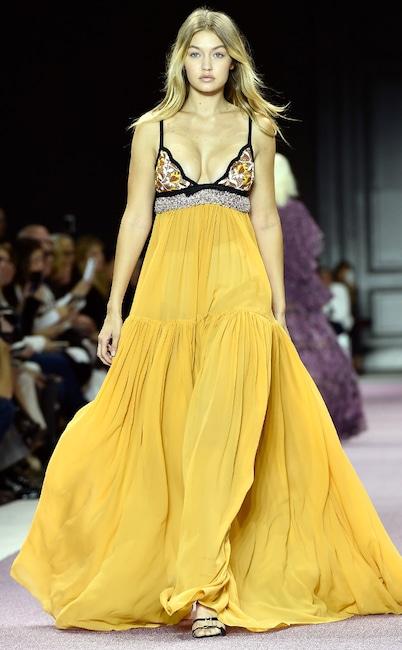 Giambattista Valli, Paris Fashion Week, Best Looks, Gigi Hadid