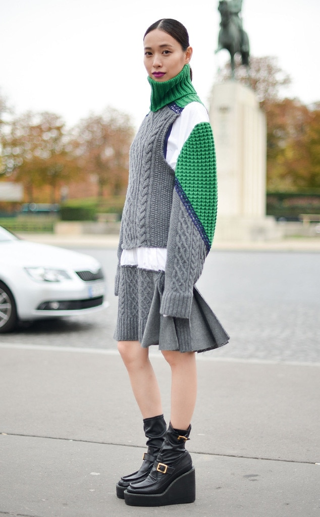 Erika Toda From Street Style At Paris Fashion Week Spring 2016 E News France