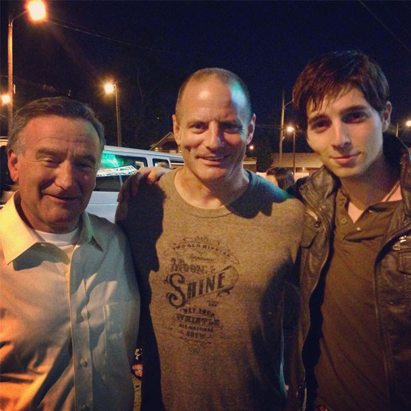 Roberto Aguire, Robin Williams, Dito Montiel