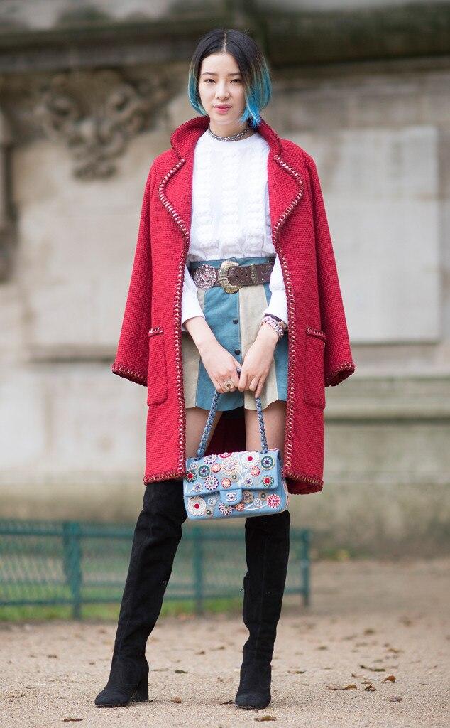 Street Style, Paris Fashion Week, Irene Kim