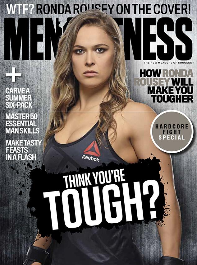 Ronda Rousey, Men's Fitness