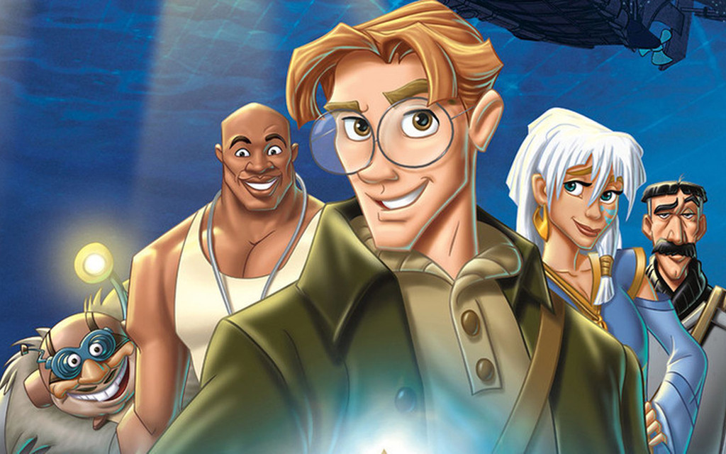 Milo Thatch from Disney's Atlantis: The Lost Empire