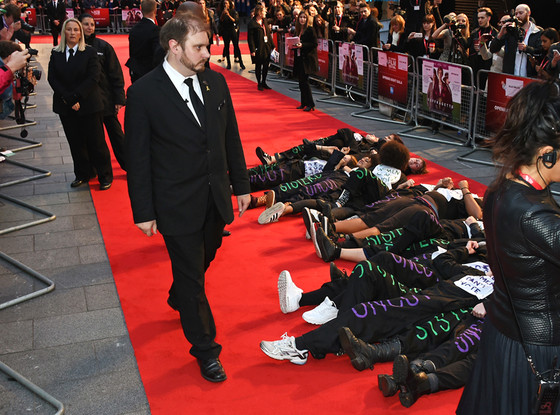 Suffragette movie premiere features red carpet protest stars like helena bonham carter react - Watch e red carpet online ...