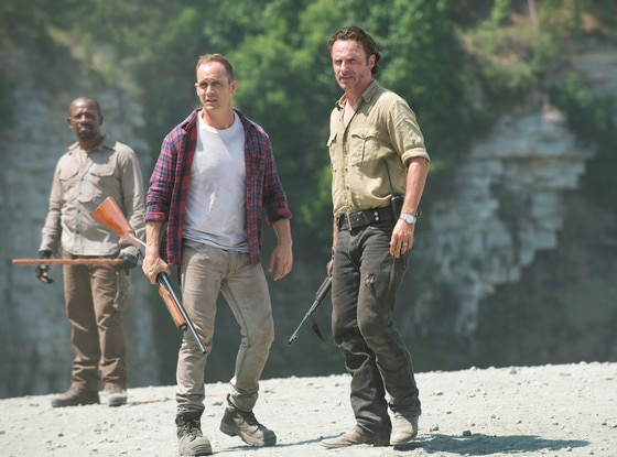 Lennie James, Ethan Embry, Andrew Lincoln, The Walking Dead, AMC