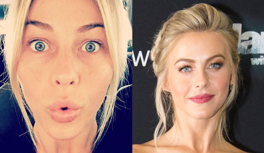 Julianne Hough, No Makeup