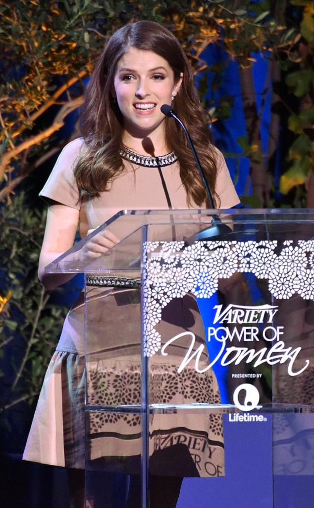 Anna Kendrick, Varietys Power Of Women Luncheon