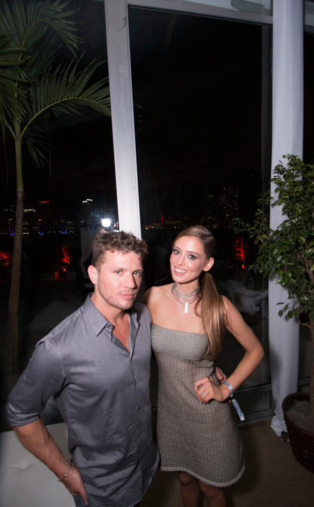 Ryan Phillippe, Paulina Slagter, New Year's Eve 2015