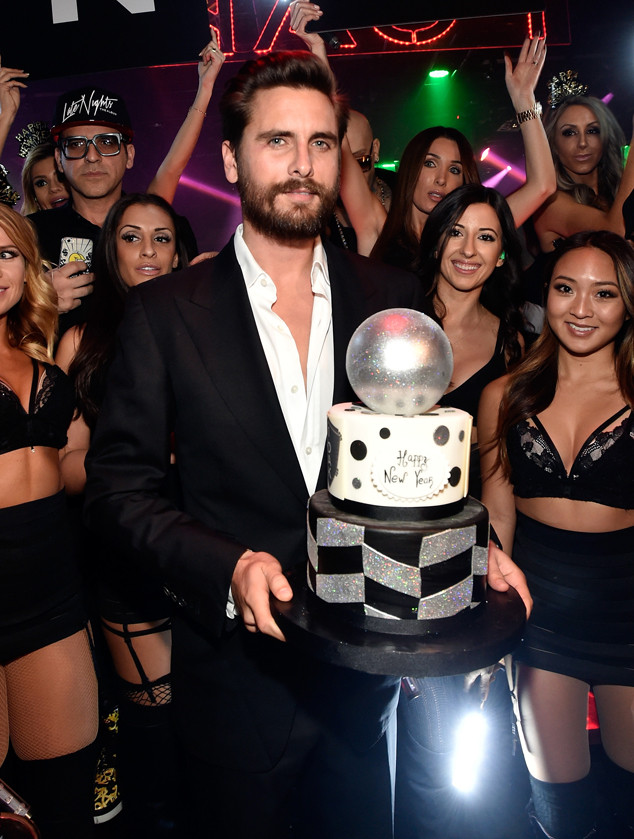 Scott Disick, 1OAK Nightclub Las Vegas, New Year's Eve 2015
