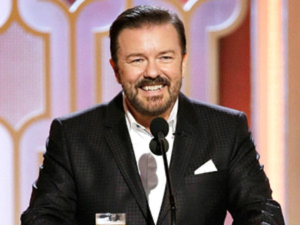 """Ricky Gervais Set to Host the 2020 Golden Globes for the """"Very Last Time"""""""
