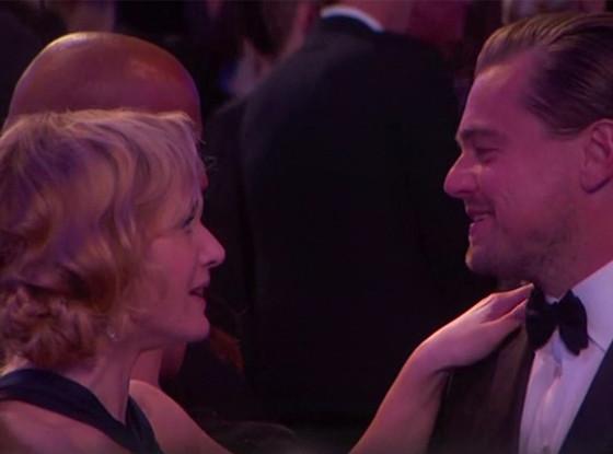 Leonardo Dicaprio, Kate Winslet, 2016 Golden Globes