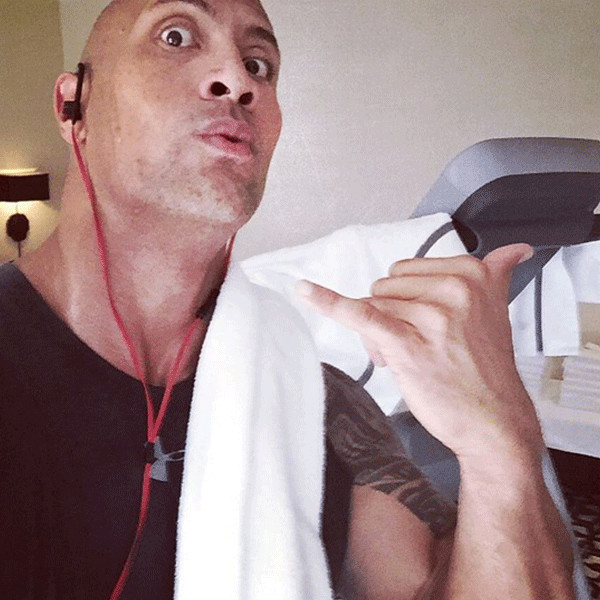 "Dwayne ""The Rock"" Johnson, Instagram"