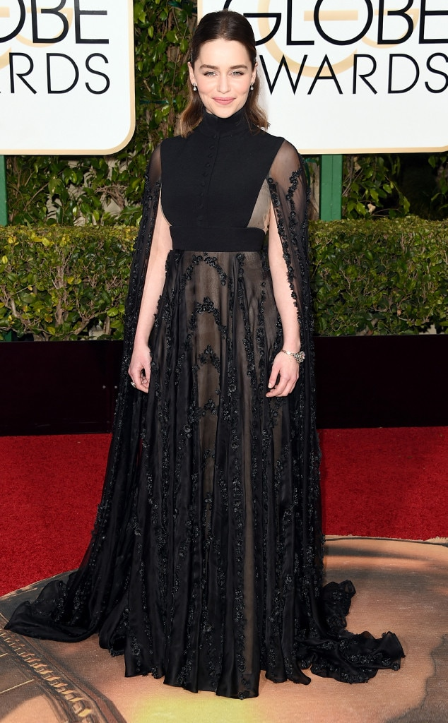 Emilia Clarke, Globe Awards