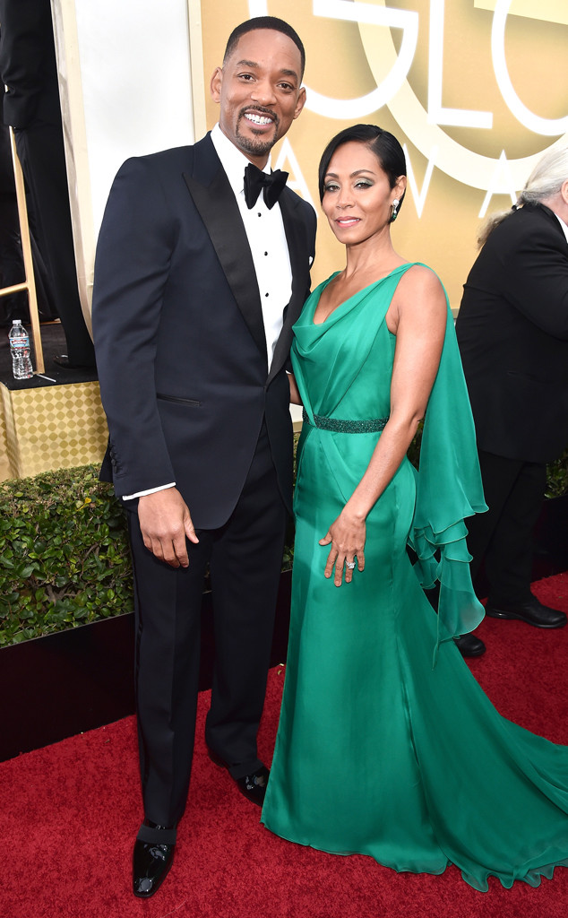 Will Smith, Jada Pinkett Smith, Golden Globe Awards Couples