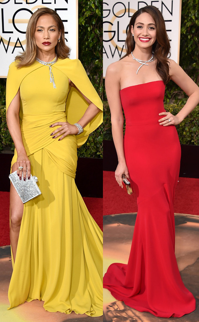 Emmy Rossum, Jennifer Lopez, Golden Globe Awards
