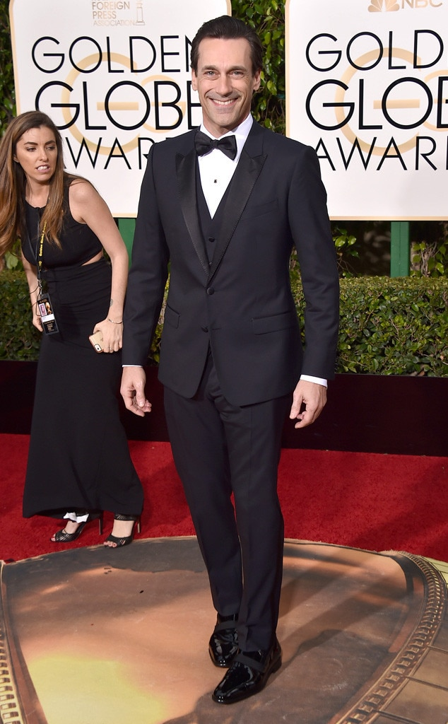 Jon Hamm, Golden Globe Awards