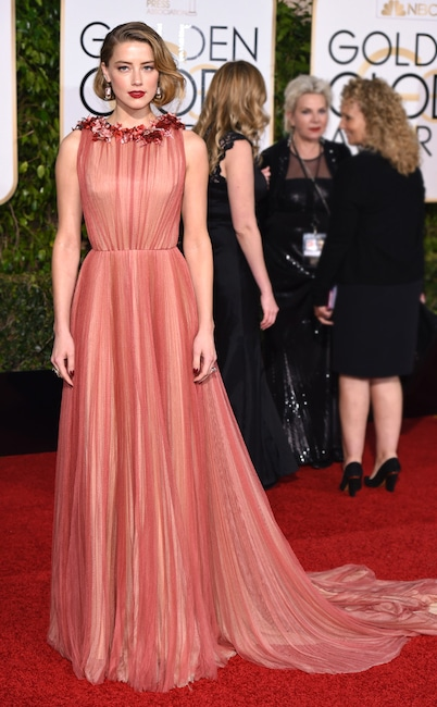 Amber Heard, Golden Globe Awards