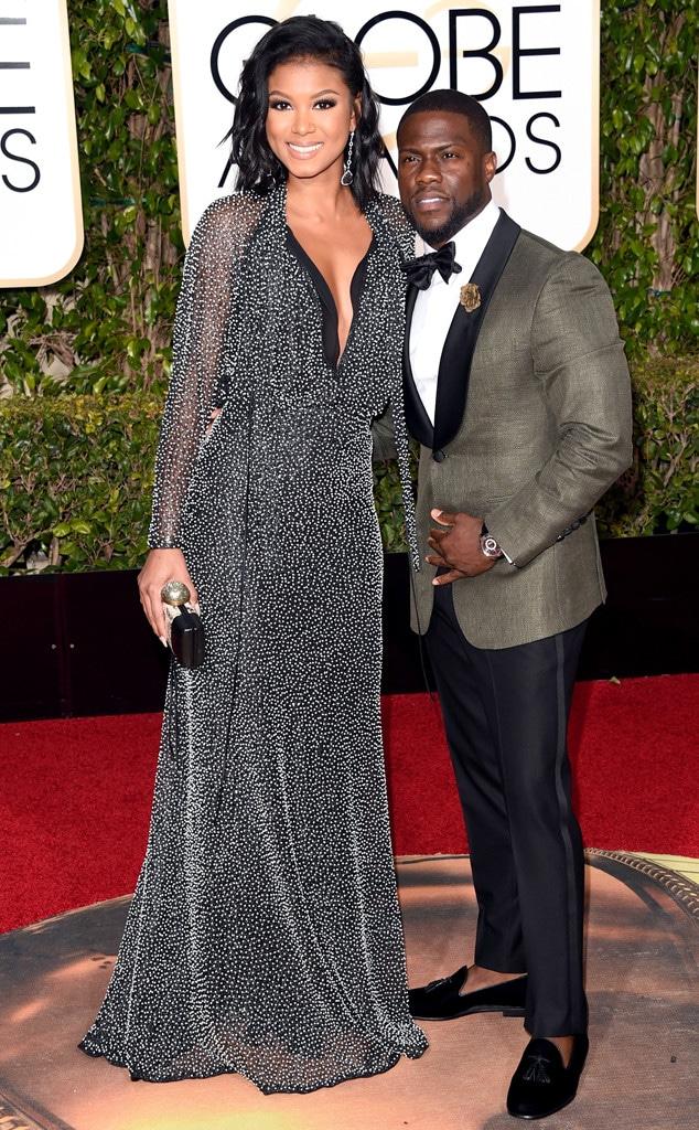 Kevin Hart, Eniko Parrish, Golden Globe Awards Couples
