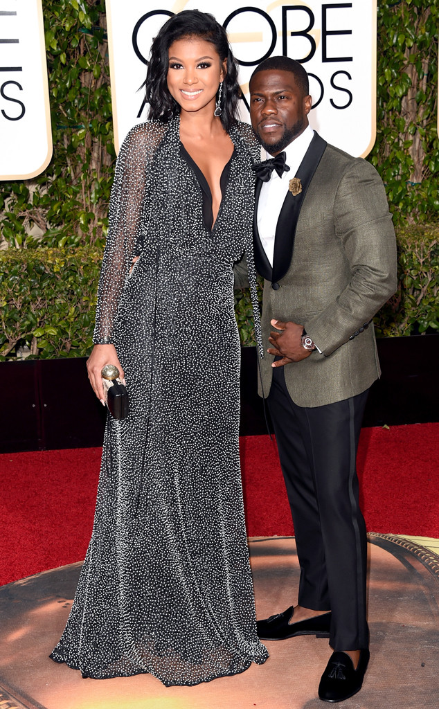 Kevin Hart, Eniko Parrish, Golden Globe Awards Couples