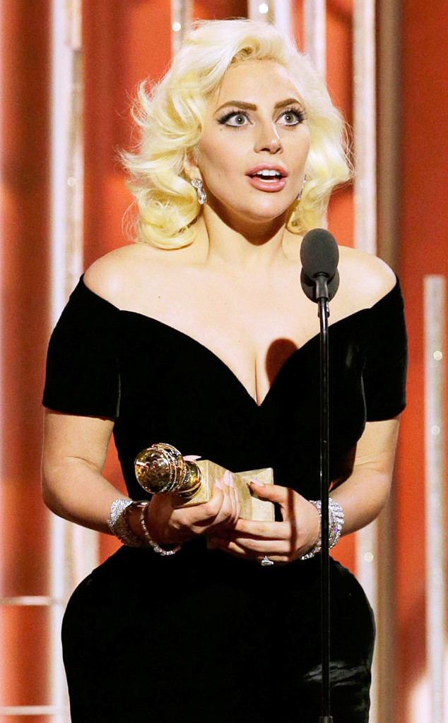 Lady Gaga, Golden Globe Awards, Winners