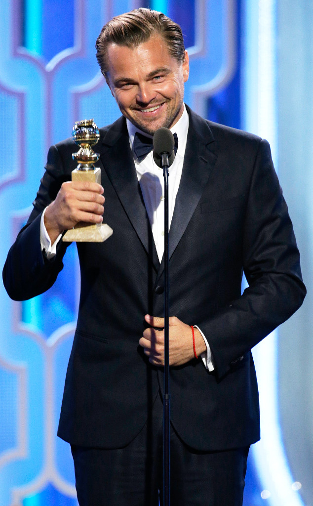 Leonardo DiCaprio, Golden Globe Awards, Winners