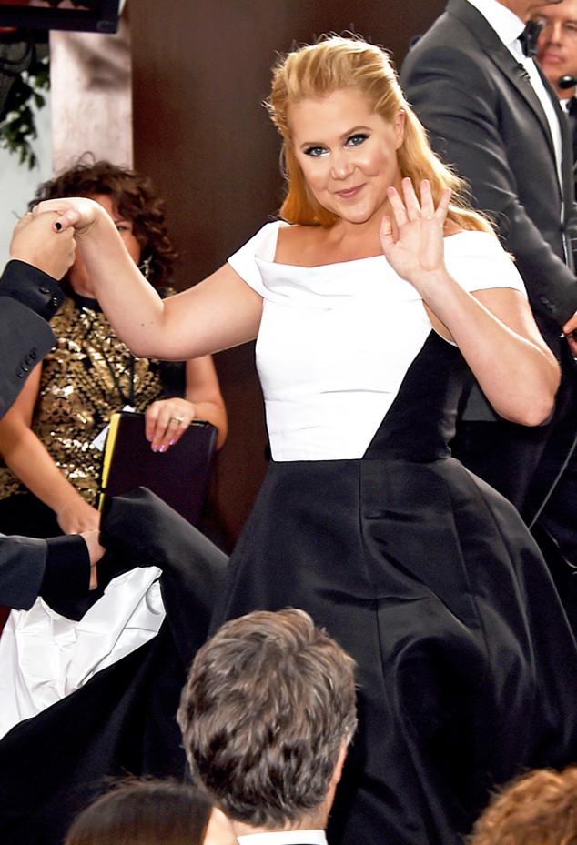 Amy Schumer, Golden Globe Awards, Candids