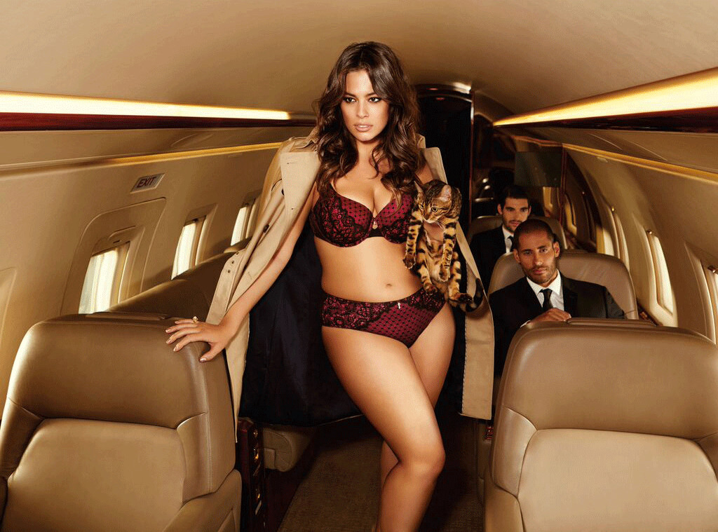 354763c43 Ashley Graham Proudly Proclaims I Am Size Sexy In Purrfect New ...
