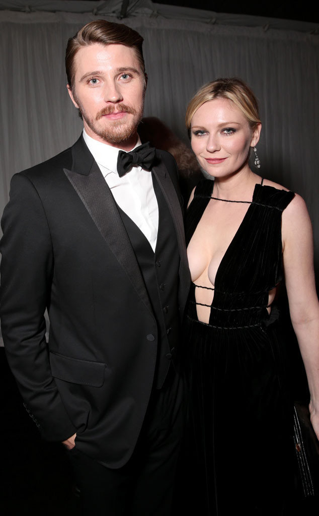 Garrett Hedlund, Kirsten Dunst, Golden Globe After Party
