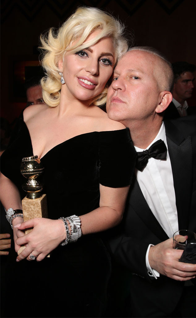 Lady Gaga, Ryan Murphy, Golden Globe After Party