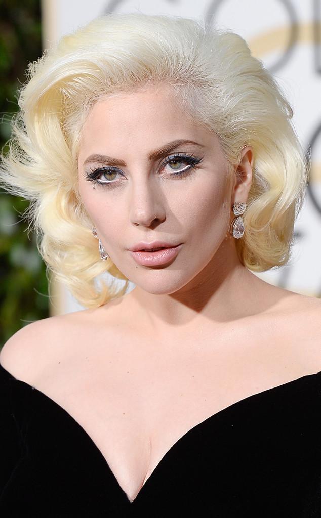 Lady Gaga, Golden Globes Beauty