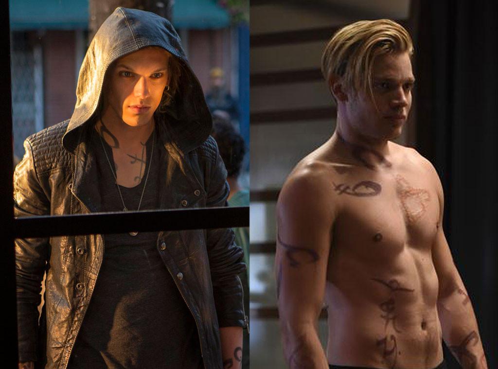 Mortal Instruments vs Shadowhunters, Jamie Bower-Campbell, Dominic Sherwood