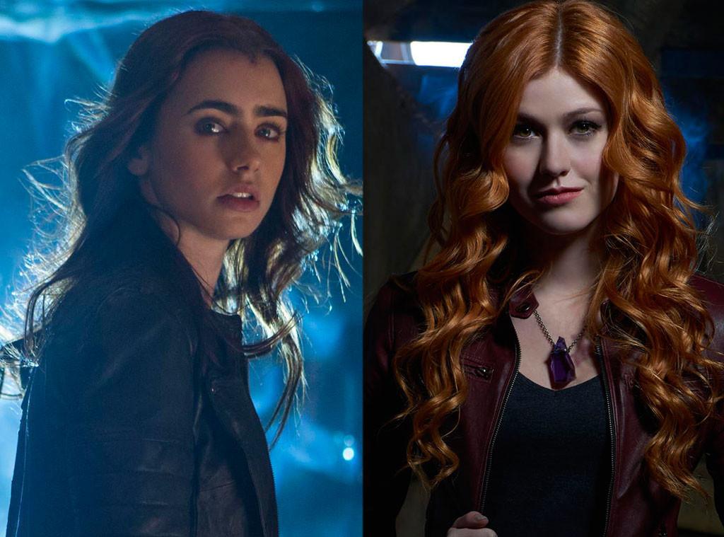Mortal Instruments vs Shadowhunters, Lily Collins, Katherine McNamara