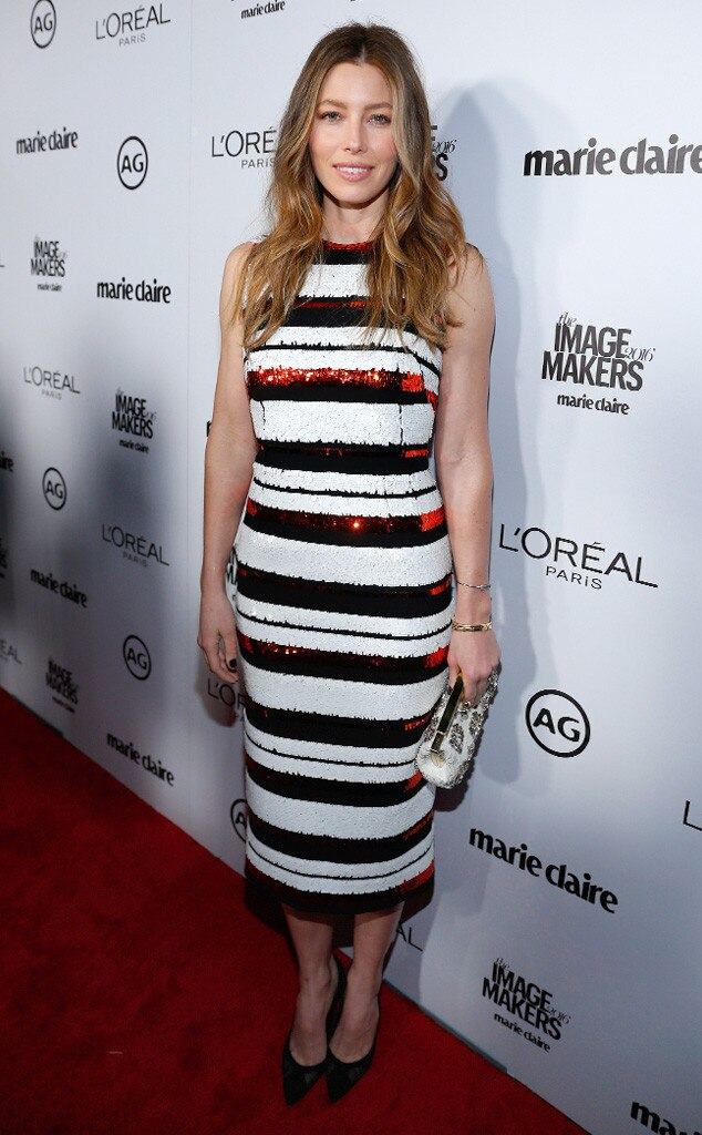 Jessica Biel, Marie Claire Image Maker Awards