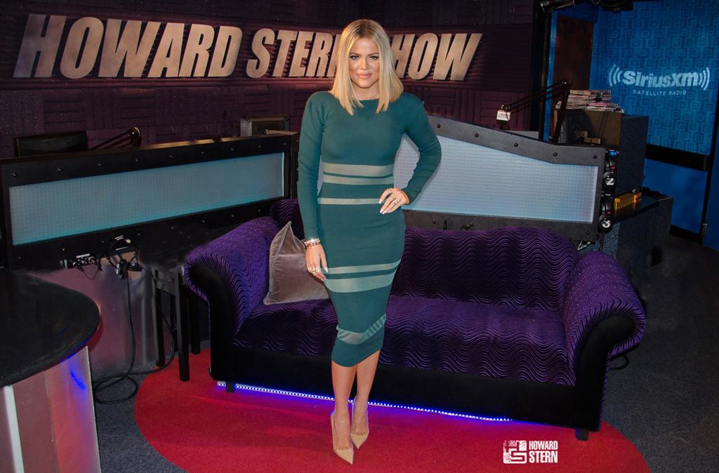 Khloe Kardashian, Howard Stern