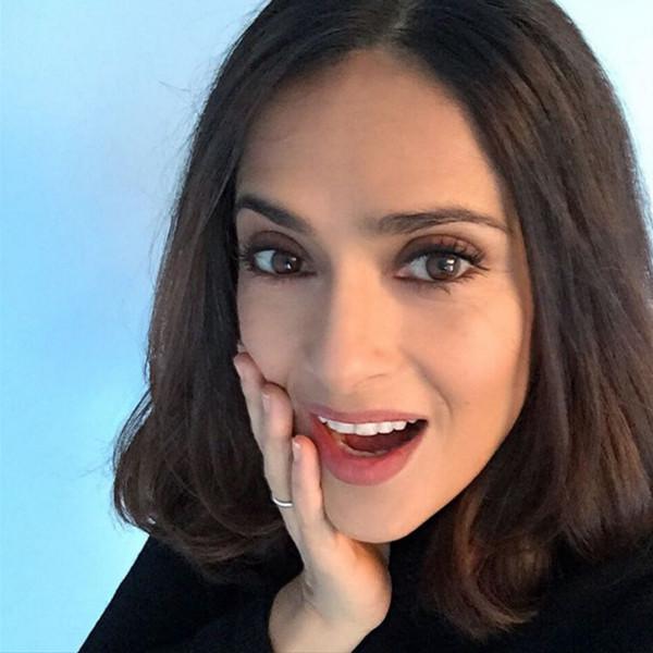 Salma Hayek, Lob Haircut