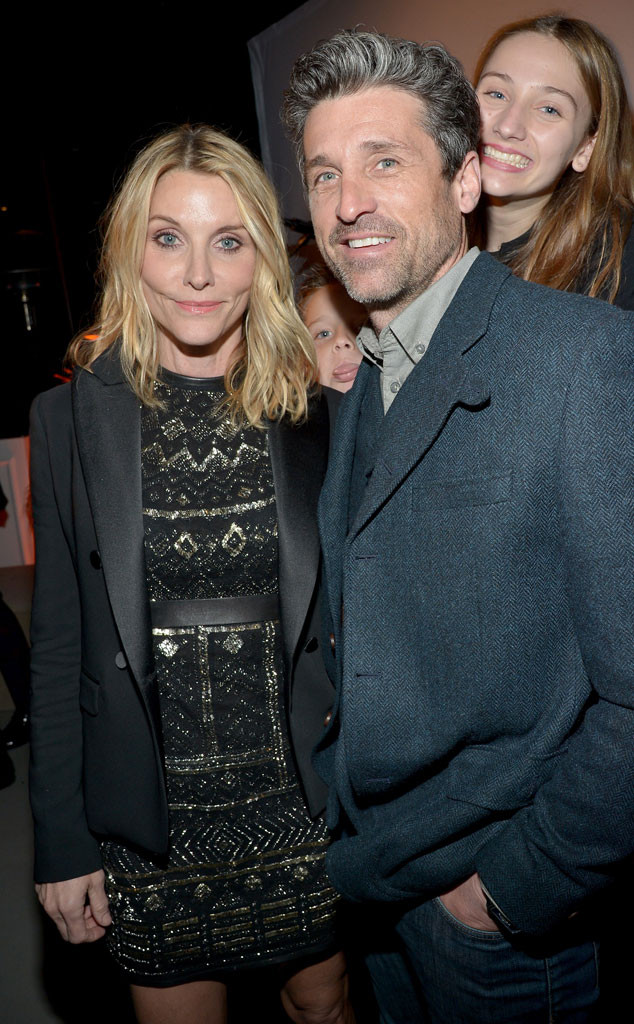 Patrick Dempsey Supports Estranged Wife Jillian Dempsey At The