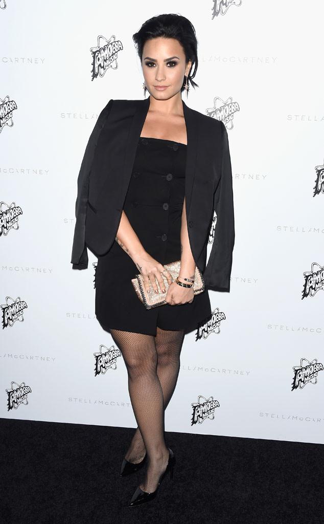 Demi Lovato, Stella McCartney Autumn 2016 Presentation