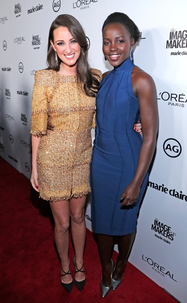 Micaela Erlanger, Lupita Nyong'o, Image Maker Awards hosted by Marie Claire
