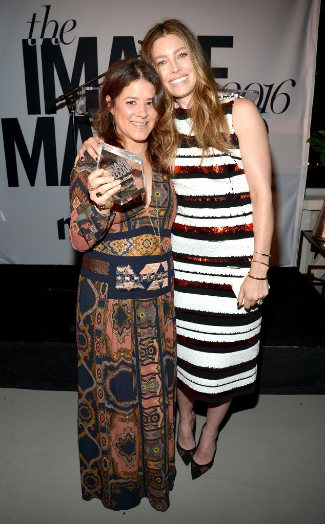Tracey Cunningham, Jessica Biel, Image Maker Awards hosted by Marie Claire