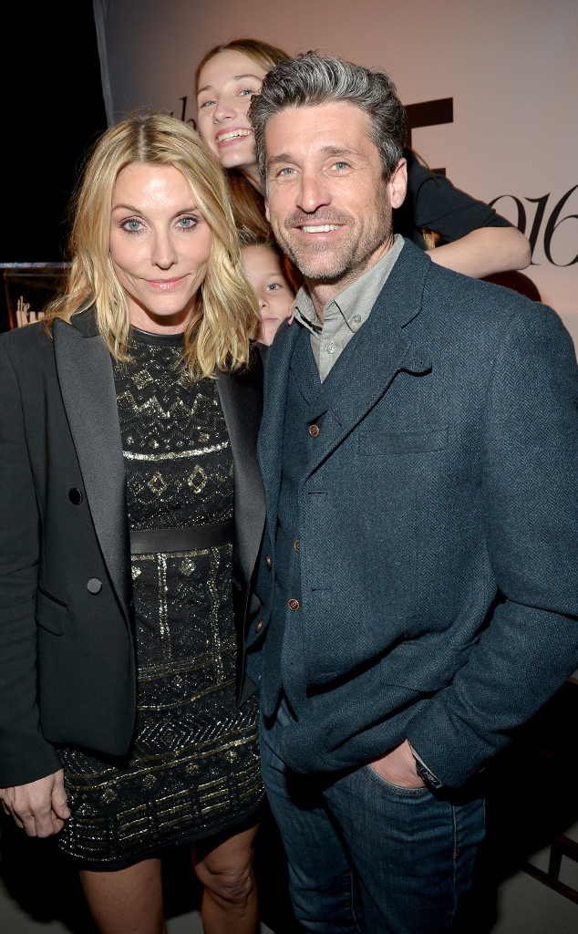 Patrick Dempsey, Jillian Dempsey, Image Maker Awards hosted by Marie Claire
