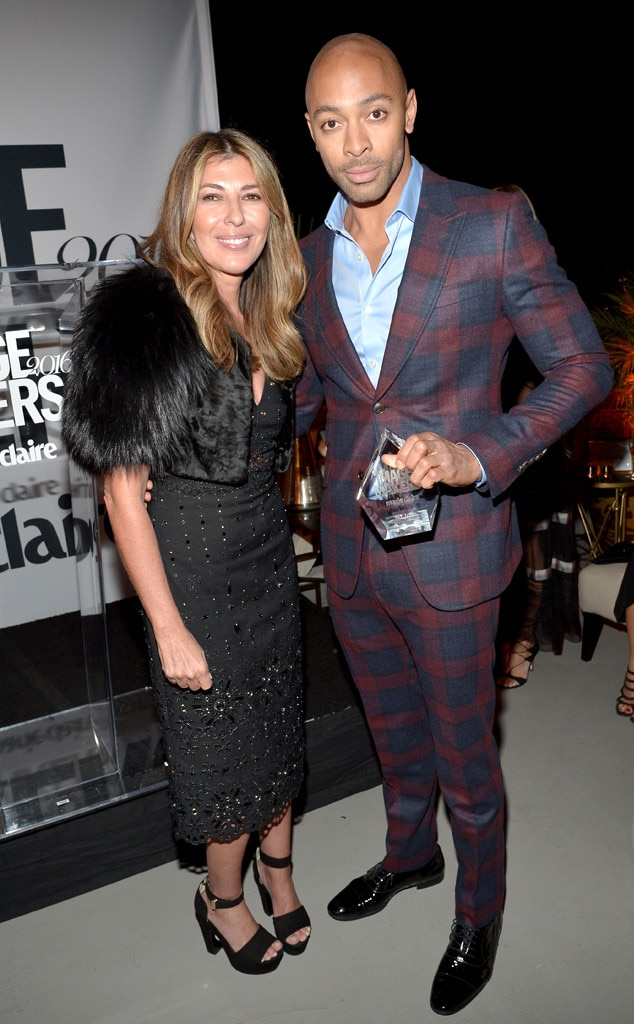 Nina Garcia, Sir John, Image Maker Awards hosted by Marie Claire