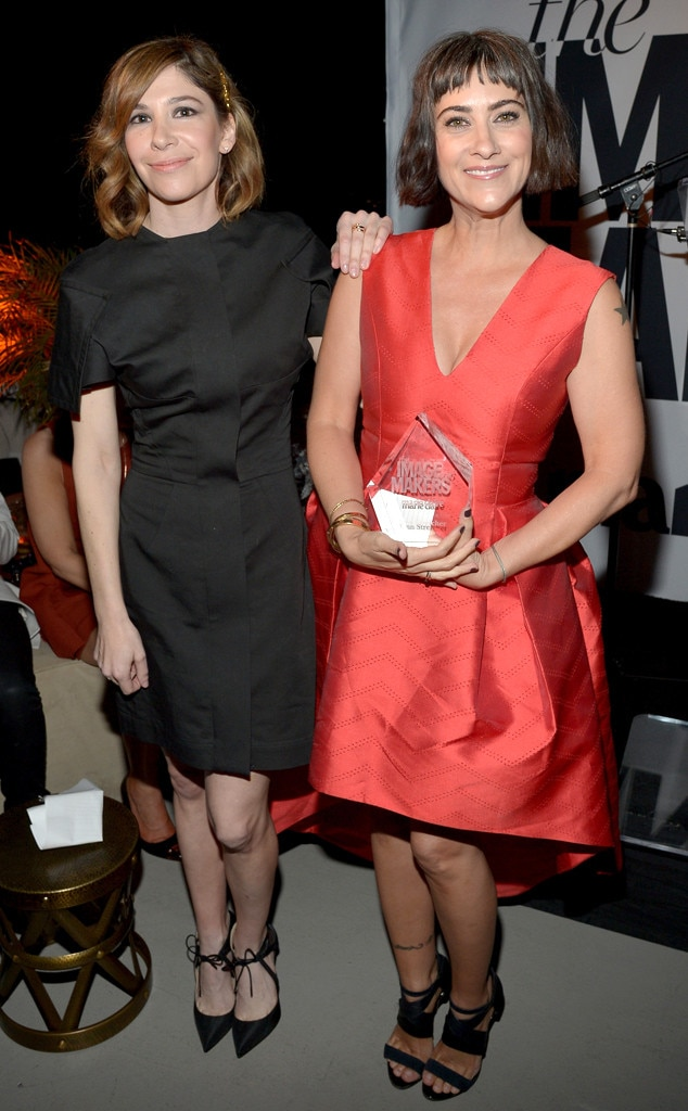 Carrie Brownstein, Jenn Streicher, Image Maker Awards hosted by Marie Claire