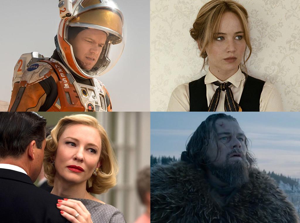 Matt Damon, Leonardo DiCaprio, Cate Blanchett, Jennifer Lawrence