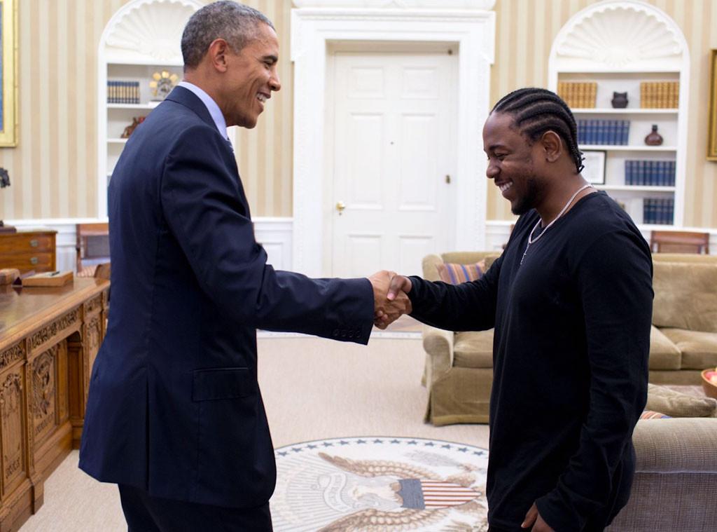 President Barack Obama, Kendrick Lamar
