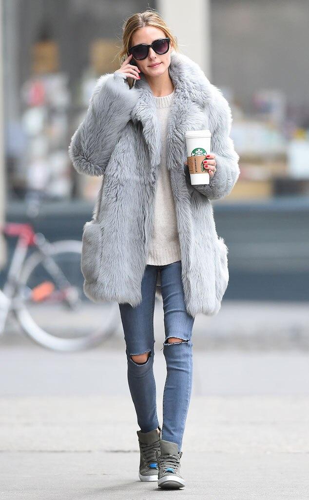 ESC: Olivia Palermo, Coffee and Clothes