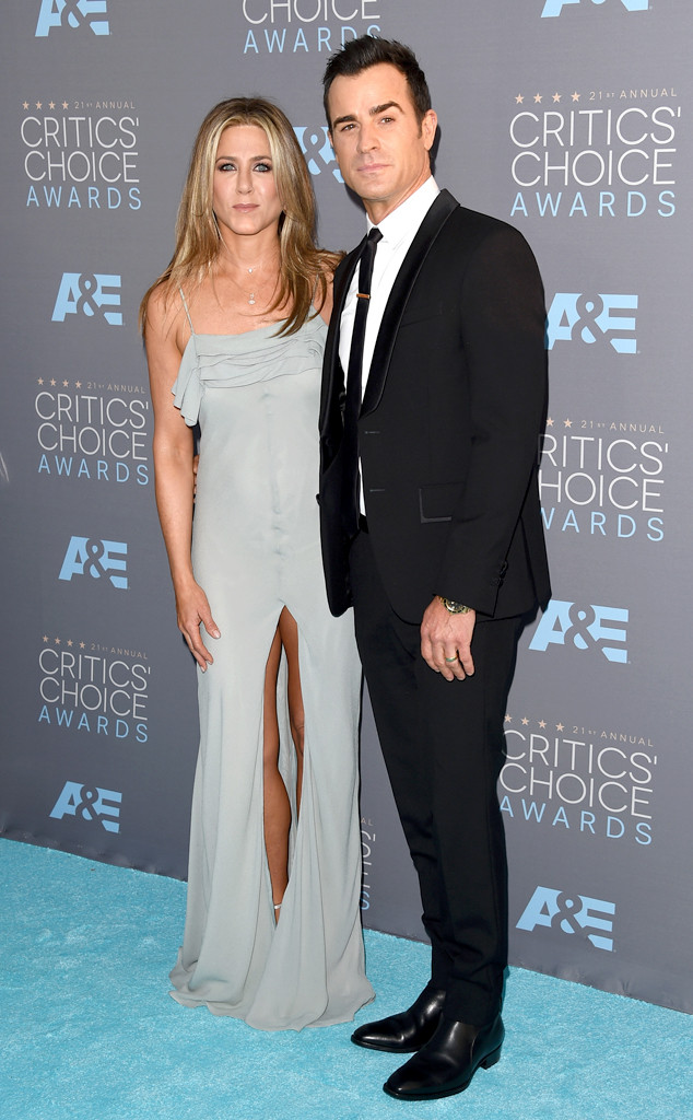 Jennifer Aniston, Justin Theroux, Critics Choice Awards