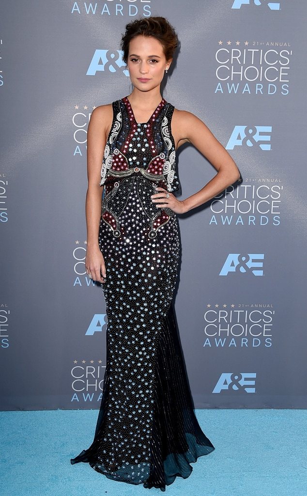 Alicia Vikander, Critics Choice Awards