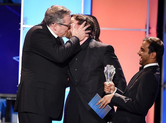Adam McKay, Christian Bale, Kiss